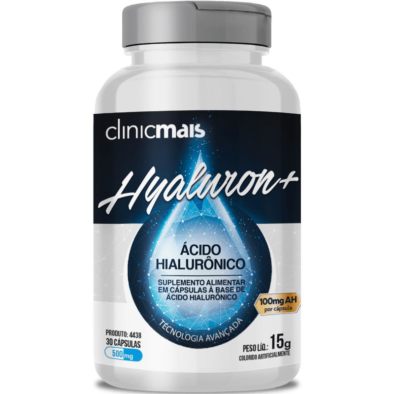 HYALURON+ ( ÁCIDO HYALURÔNICO ) - 30 CÁPSULAS