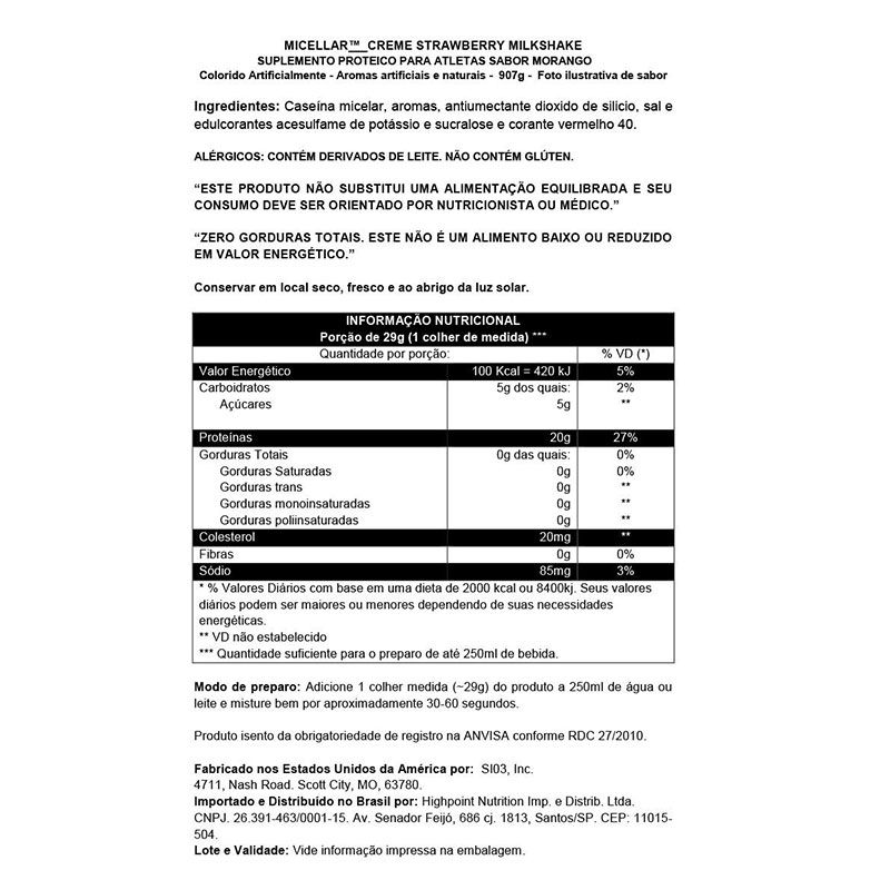 MICELLAR CRÈME - 907G