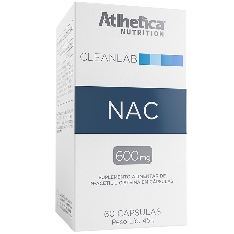 NAC (N-ACETYL-L-CYSTEINE 600 MG) - 60 CÁPSULAS