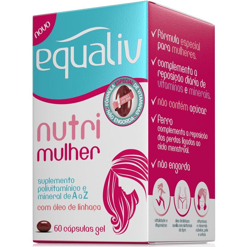 NUTRI MULHER - 60 CÁPSULAS