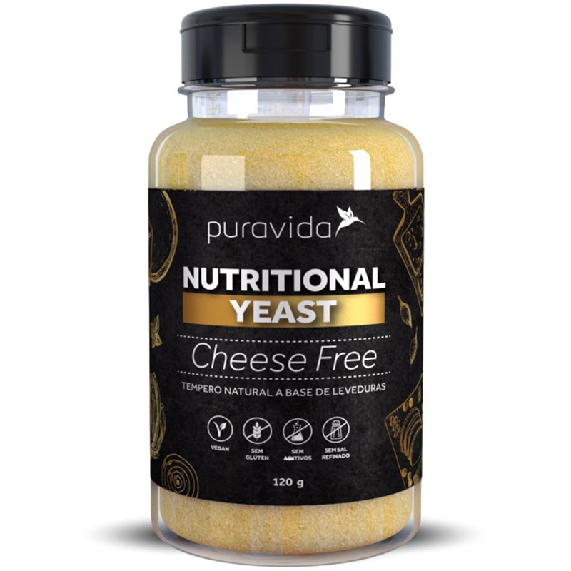 NUTRITIONAL YEAST CHEESE FREE - 120G