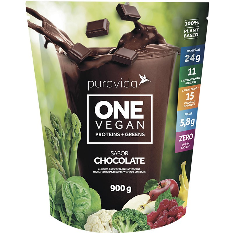 ONE NUTRITION PROTEINS + GREENS - 900G