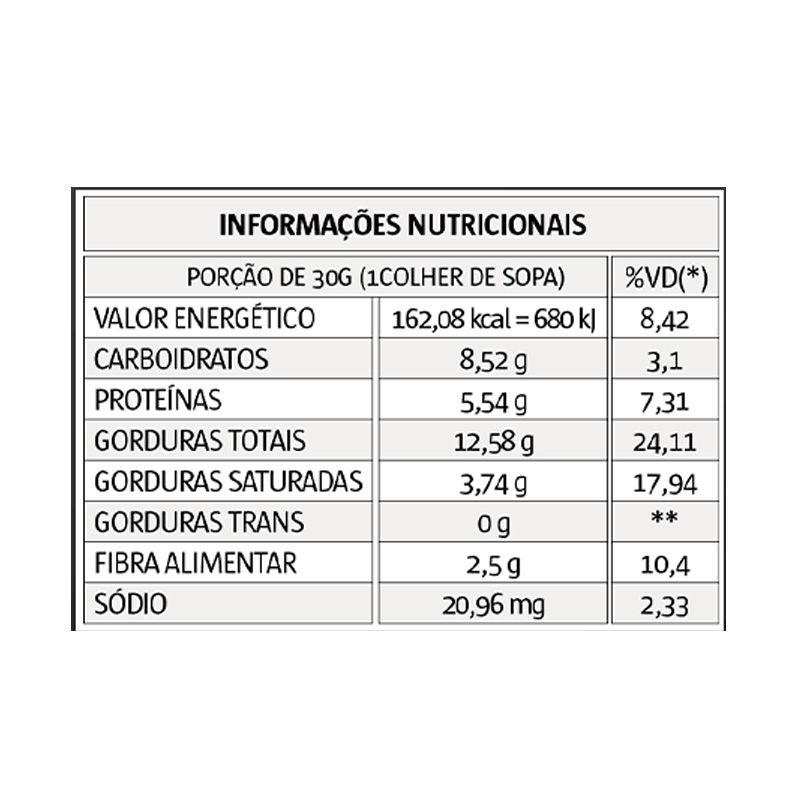 PASTA INTEGRAL DE AMENDOIM SABOR BROWNIE CREAM - 1005G