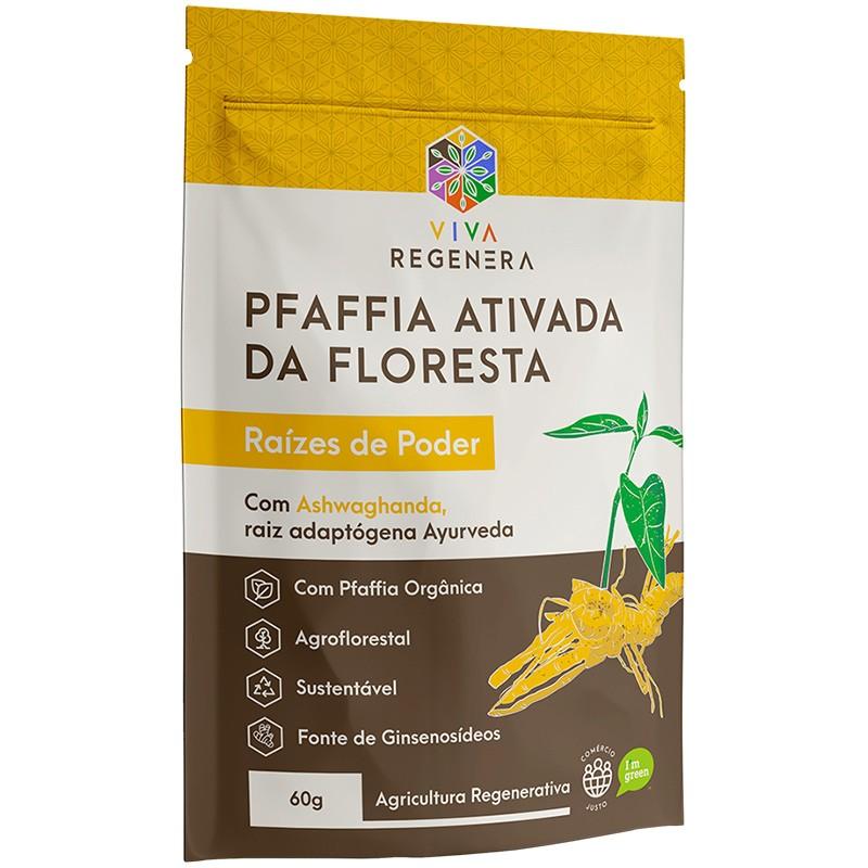 PFAFFIA ATIVADA DA FLORESTA - 60G