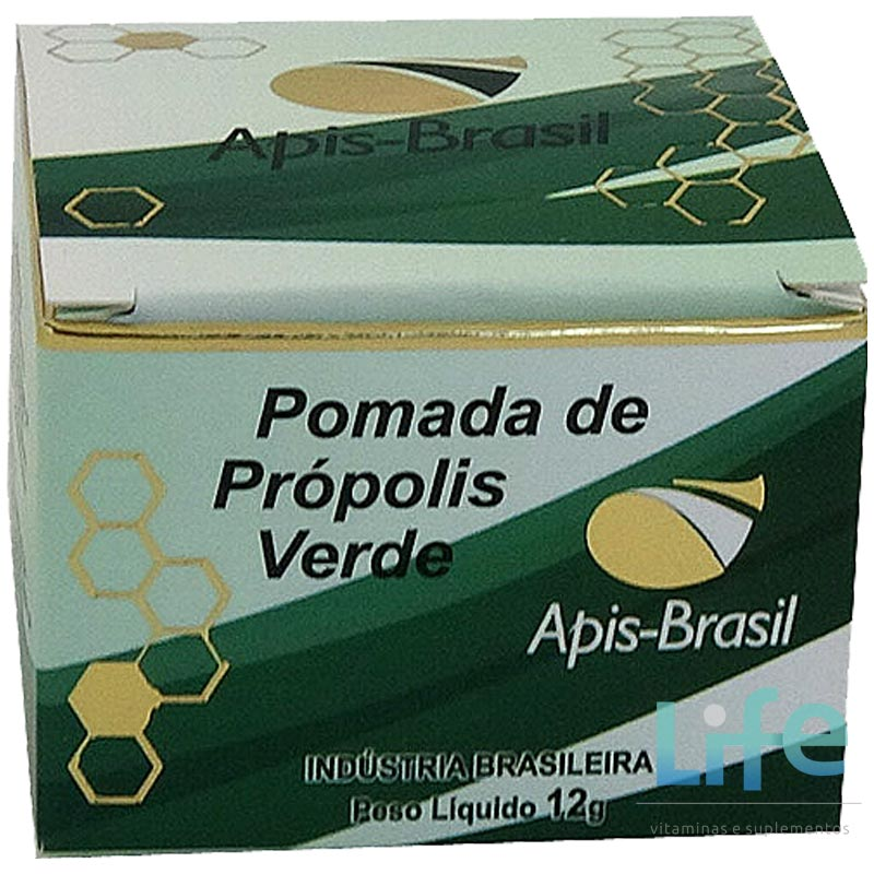 POMADA DE PRÓPOLIS VERDE - 12G