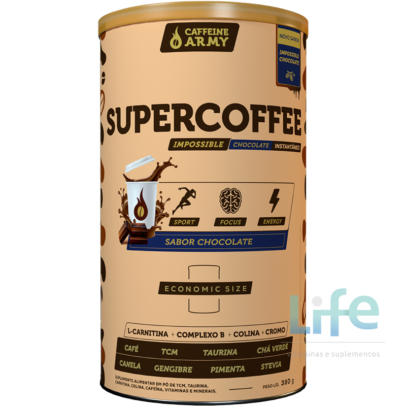 SUPERCOFFEE IMPOSSIBLE CHOCOLATE - 380G