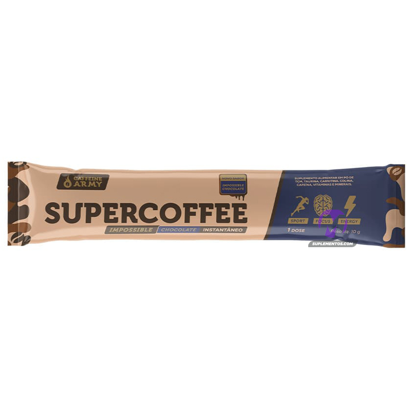 SUPERCOFFEE TO GO IMPOSSIBLE CHOCOLATE - 10G