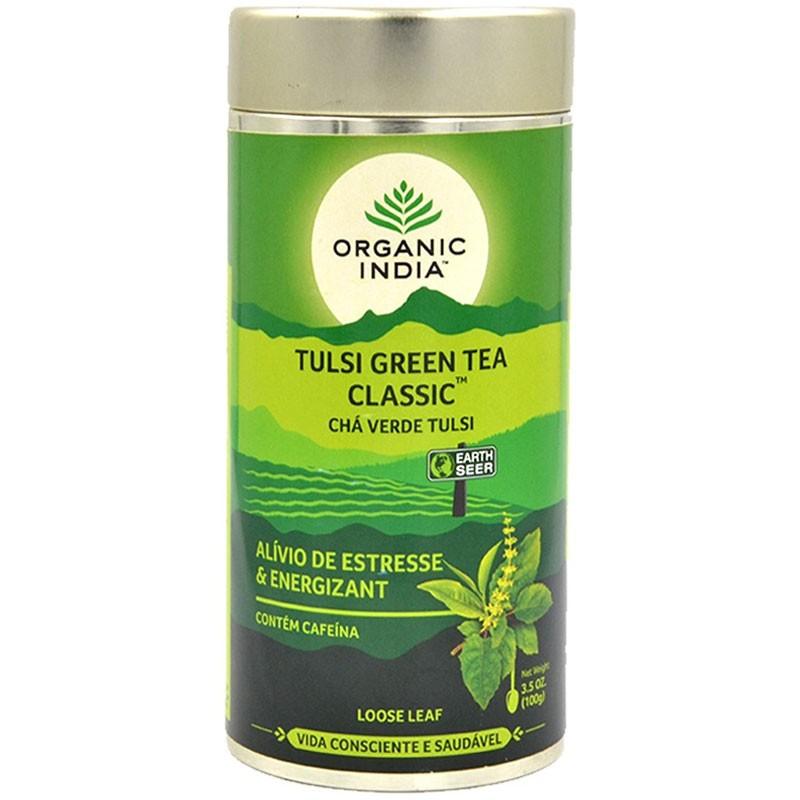 TULSI GREEN TEA CLASSIC - 100G