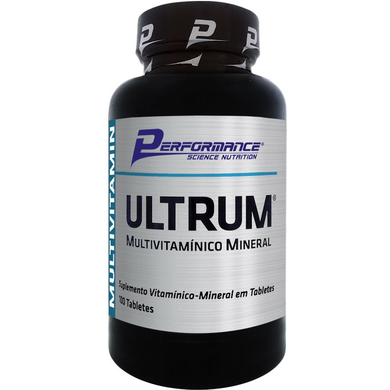 ULTRUM MULTIVITAMÍNICO MINERAL - 100 TABLETES