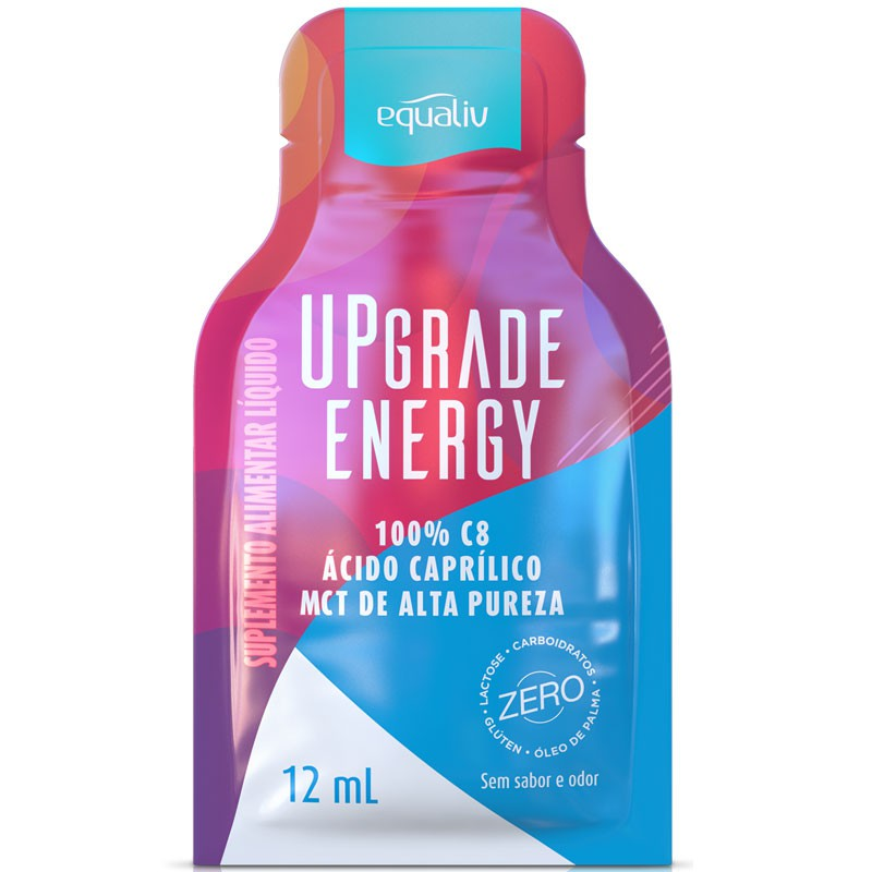UPGRADE ENERGY - 100% C8 (ÁCIDO CAPRÍLICO) - 12ML