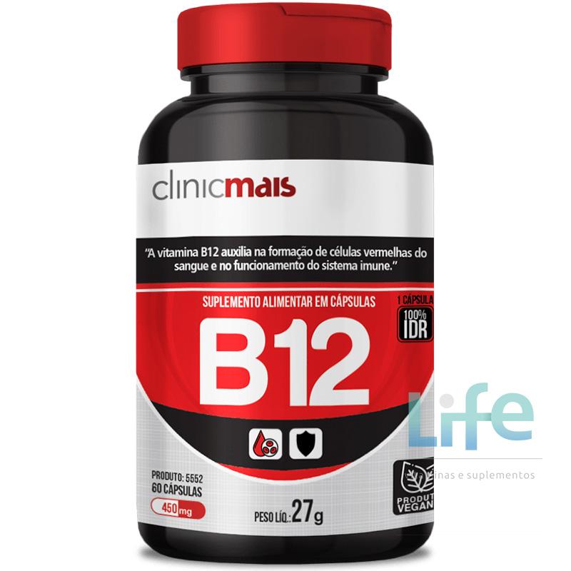 VITAMINA B12 2,4MCG - 60 CÁPSULAS