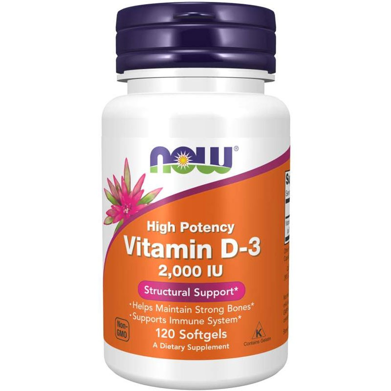 VITAMINA D3 2000UI - 120 SOFTGELS