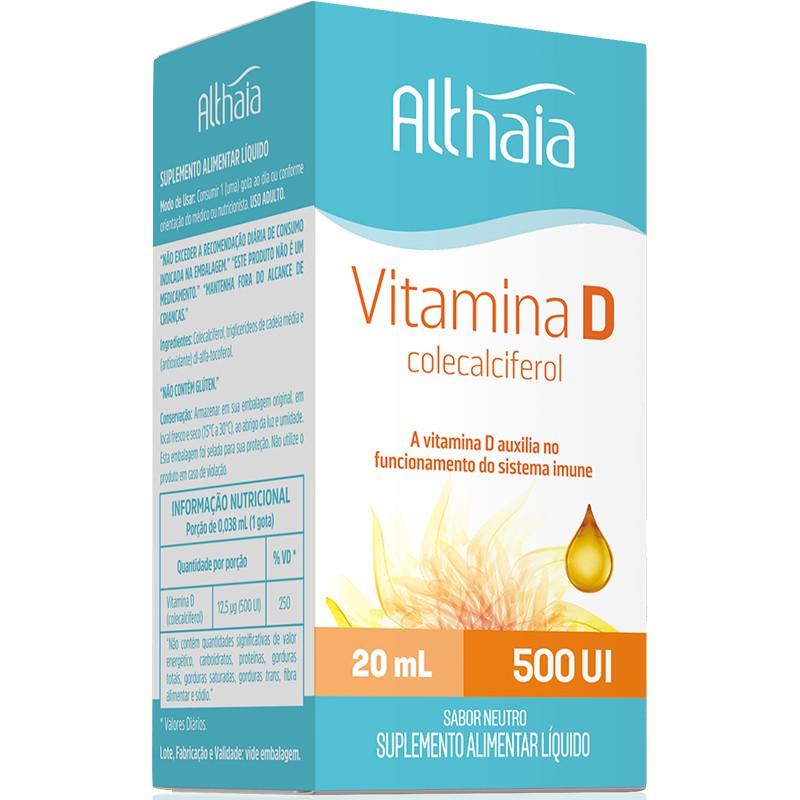 VITAMINA D 500IU ( COLECALCIFEROL ) - 20ML