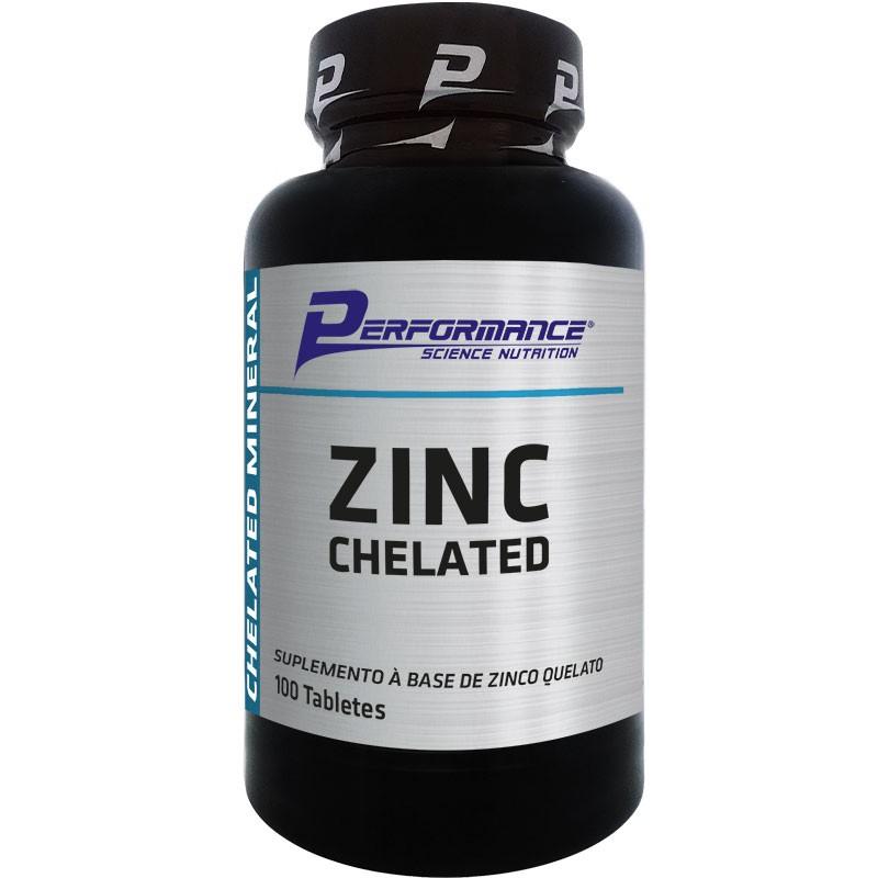 ZINC CHELATED - 100 TABLETES