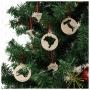 #Kit Enfeites de Natal do Viajante - Lugares do Mundo - Coleção Mapas Países (Kit c/12un)