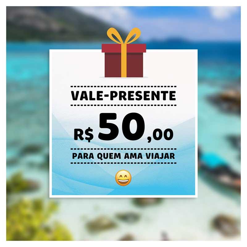 #Vale-Presente Viagema - Voucher e Vale-Compras (Cupom + Arquivo Digital)