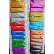 1 Pacote de Glitter para Unhas Nail Art decoração ATACADO.