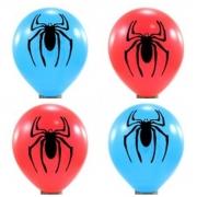 25 Unid - Balão Bexiga Aranha Sortido 11 Polegadas