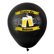 25 Unid - Balão Bexiga Festa Boteco  Sortido 11 Polegadas