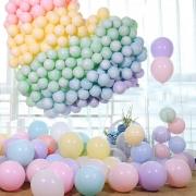 50 Unid Balão - Bexiga Candy Colors Tamanho 5 Cor Pastel