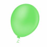 50 Unid Balão Bexiga Látex Verde Limão Tamanho 7