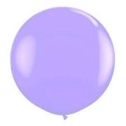 Balão Big 25 Pol Lilás Bexigão 250 Gigante  P/Doces