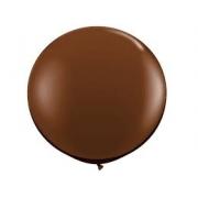 Balão Big  25 Pol Marrom Bexigão 250  Gigante P/Doces
