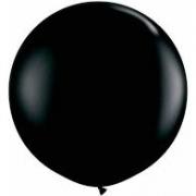 Balão Big 25 Pol Preto  Bexigão 250 Gigante P/Doces