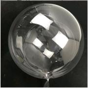Balão Bubble BOBO 24 Pol Transparente Cristal