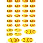 Impressao de Valores  para Maquina Vending Machine Bolinha Pula Pula