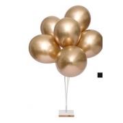 KIT Suporte Balão Bexiga 6 Hastes Vareta 30 Cms