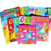 Revista / Livrinho / Revistinha para Pintar colorir