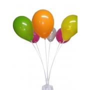Suporte Balão Bexiga 6 Hastes Vereta 70 Cms