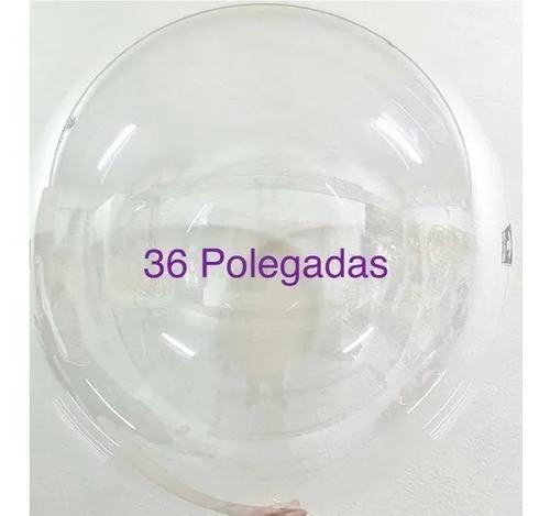 1 Unid Balão Bubble Transparente Cristal 36 Pol Gigante
