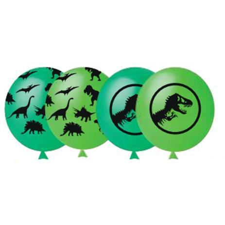 25 Unid Balao Bexiga Dinossauro Decoracao Festa