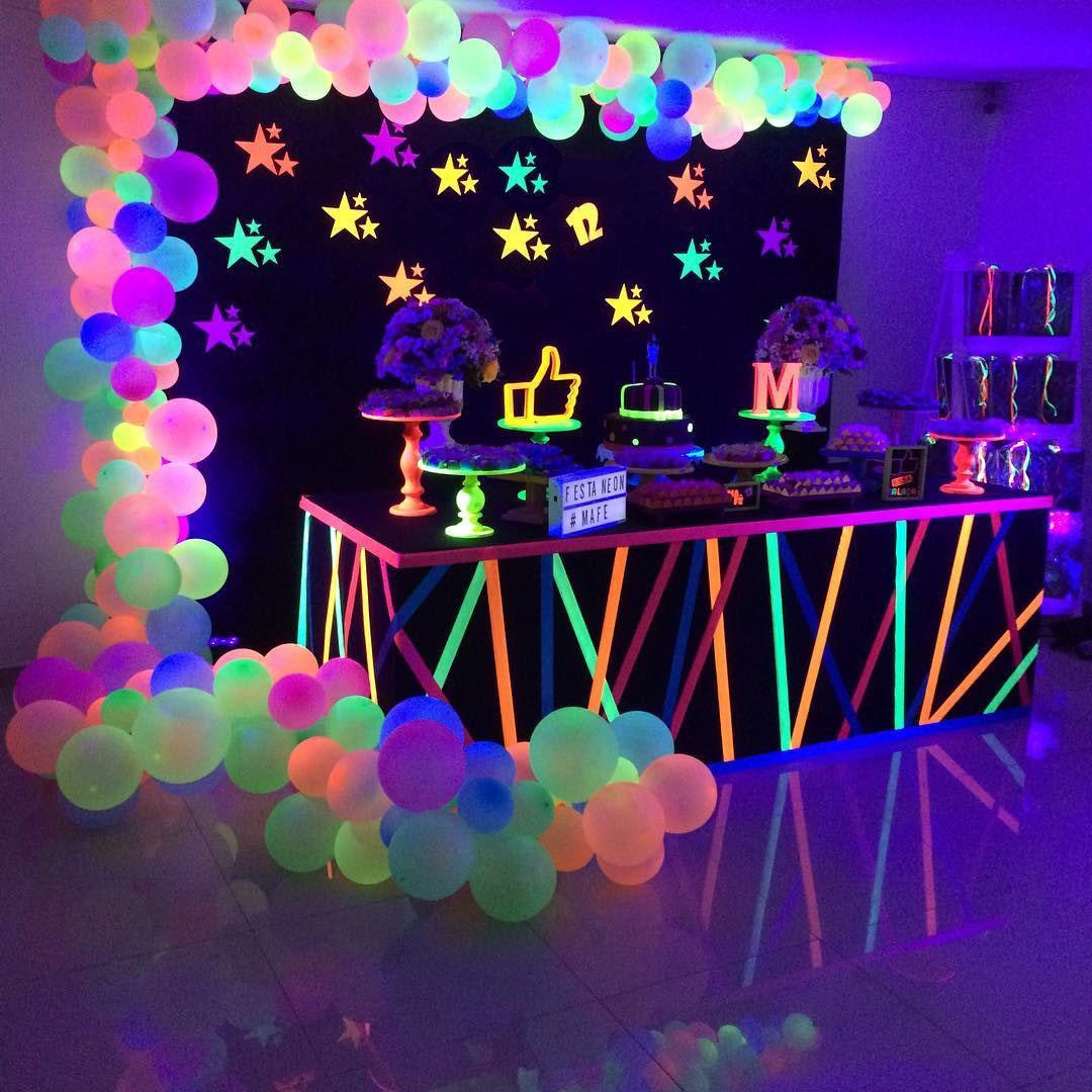 Balão Bexiga Festa Neon Tamanho 5 Polegadas