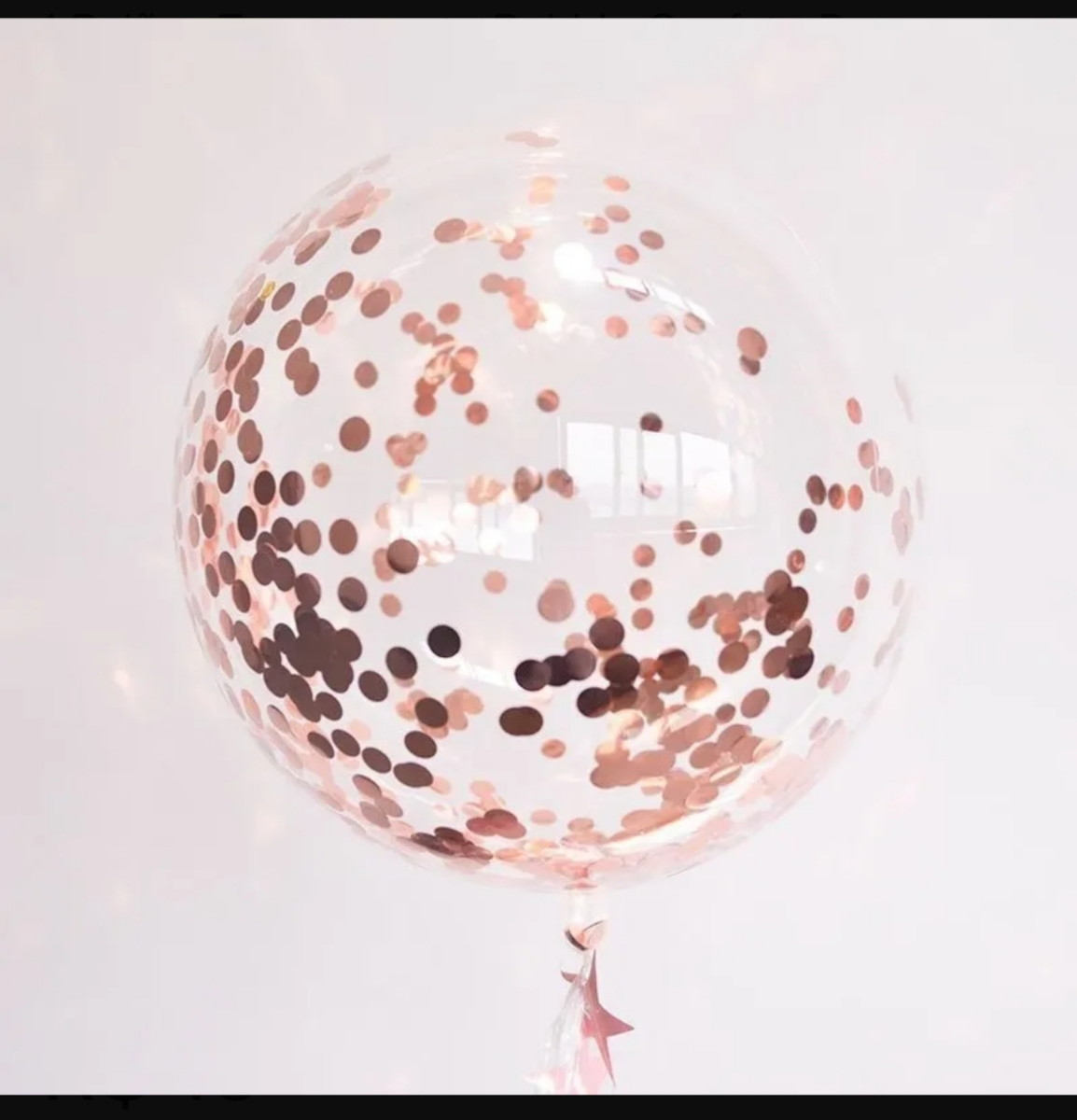 Balão Bubble BOBO 18 Pol Transparente Cristal