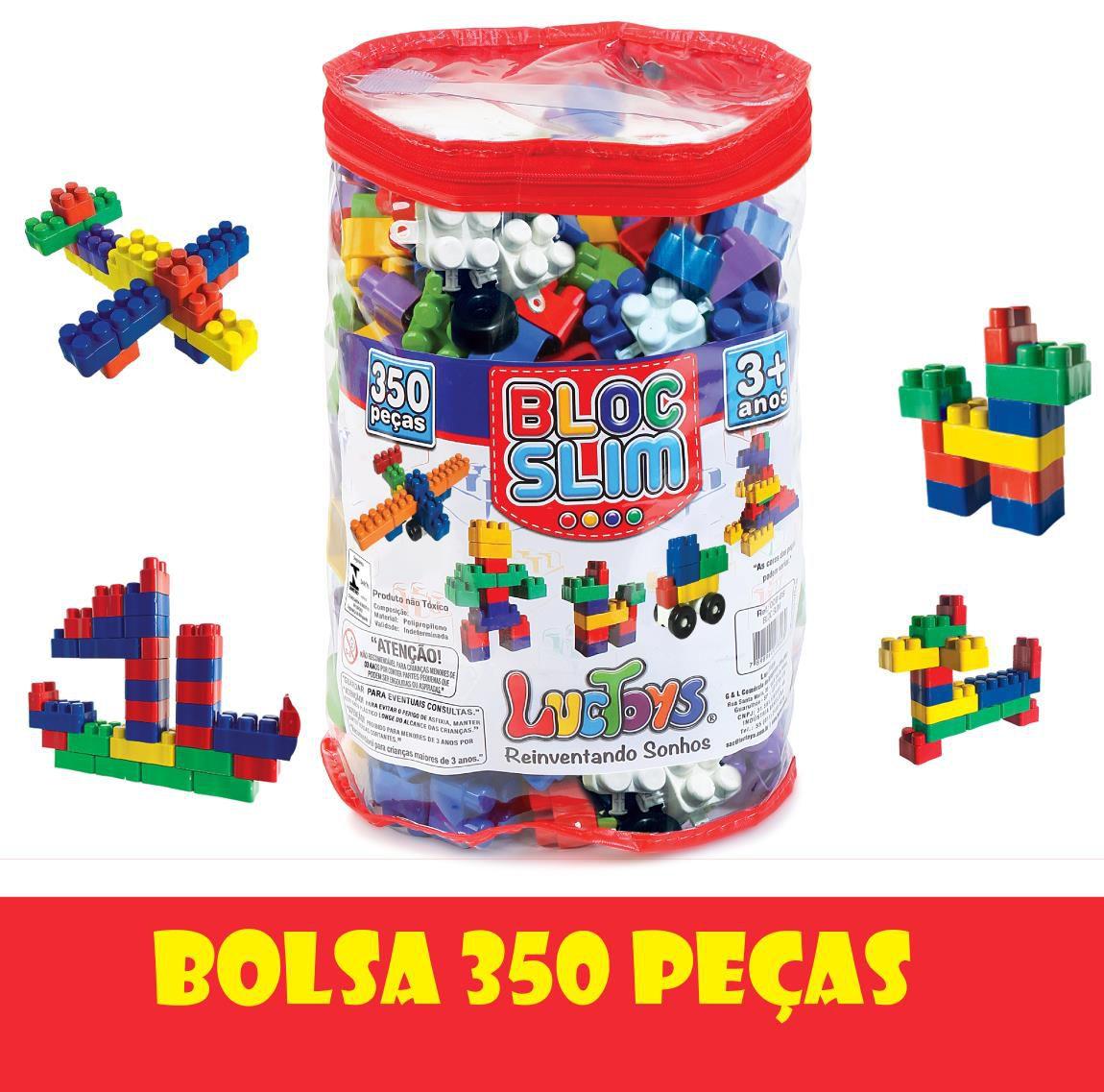 Bloco de Montar 350 Peças