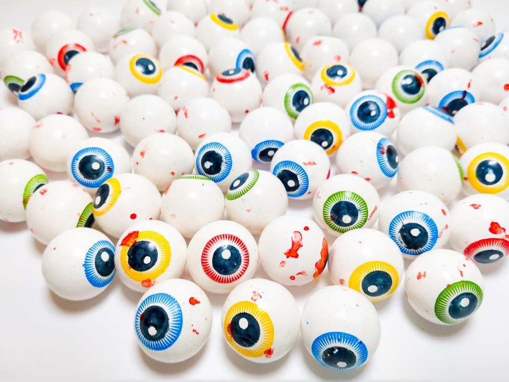 Chicletes de Olho  para Maquina de Bolinha Lembrancinhas