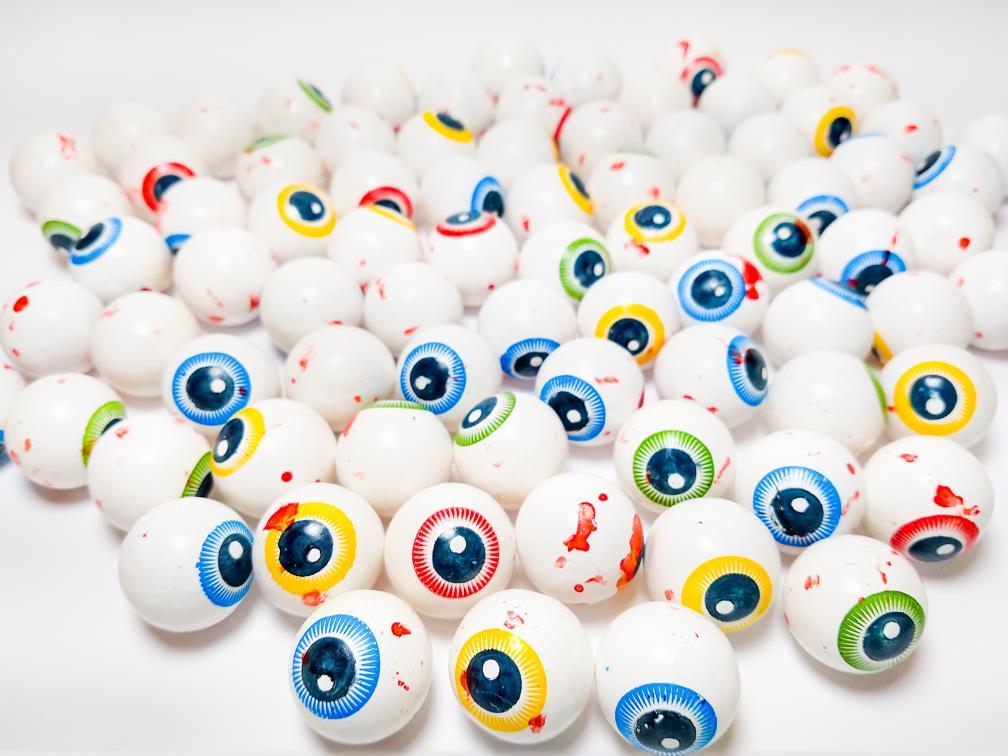 Chicletes para Maquina de Bolinha - Veding Machine Olho