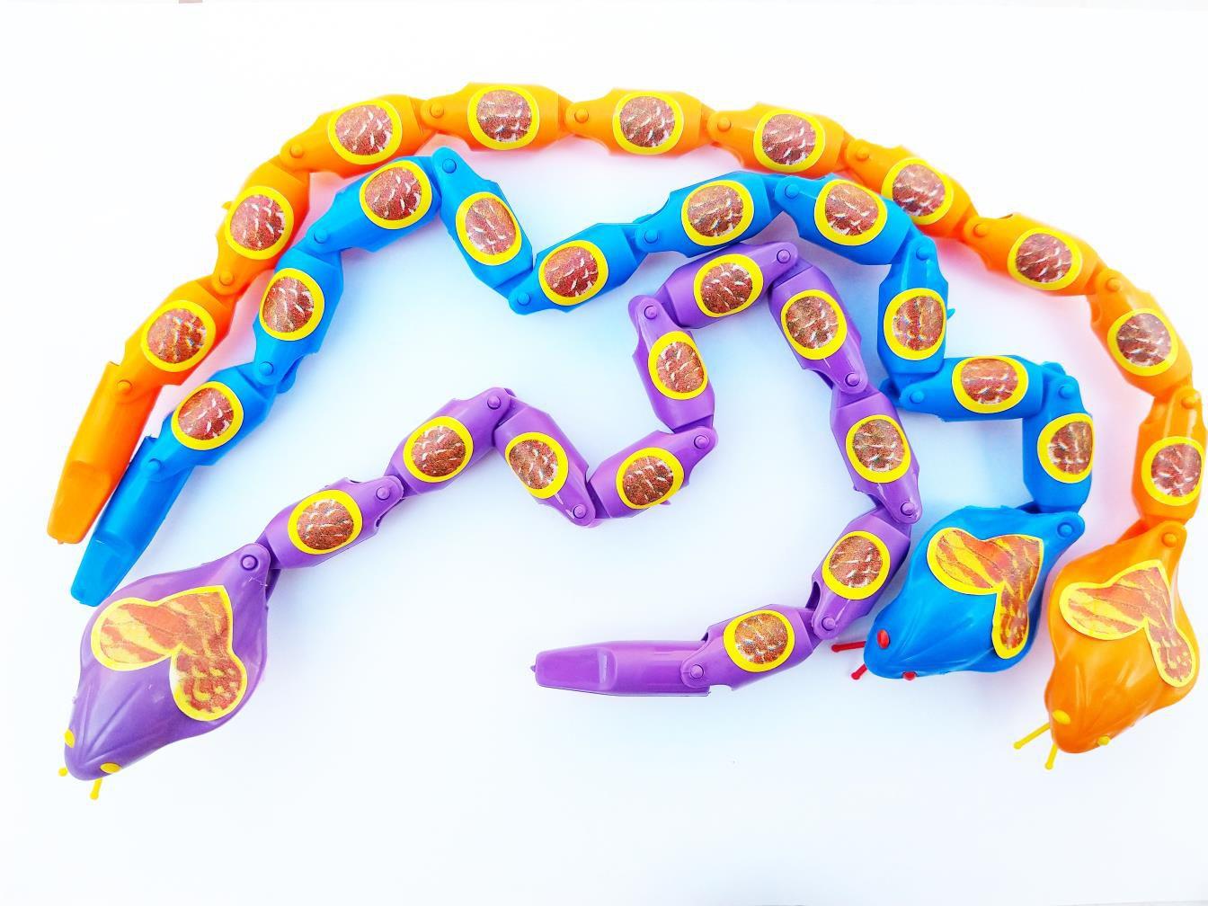 Cobra Maluca Articulada Brinquedo