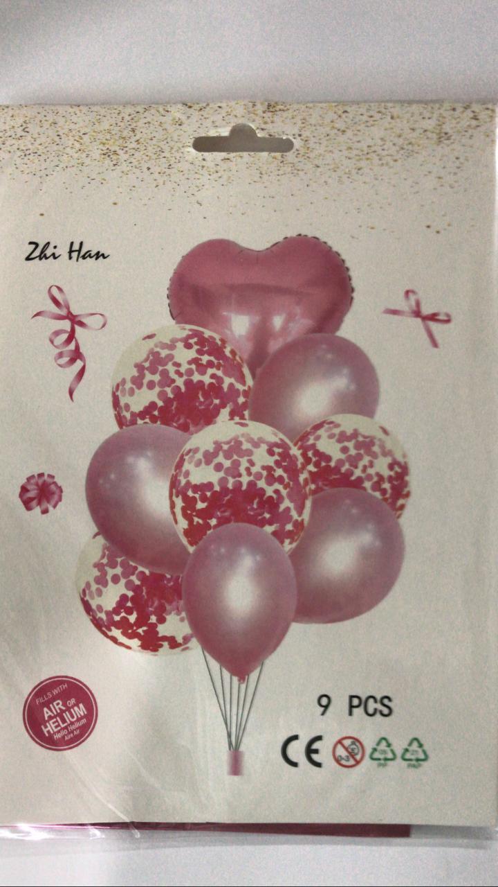 Kit balão metalizado festa
