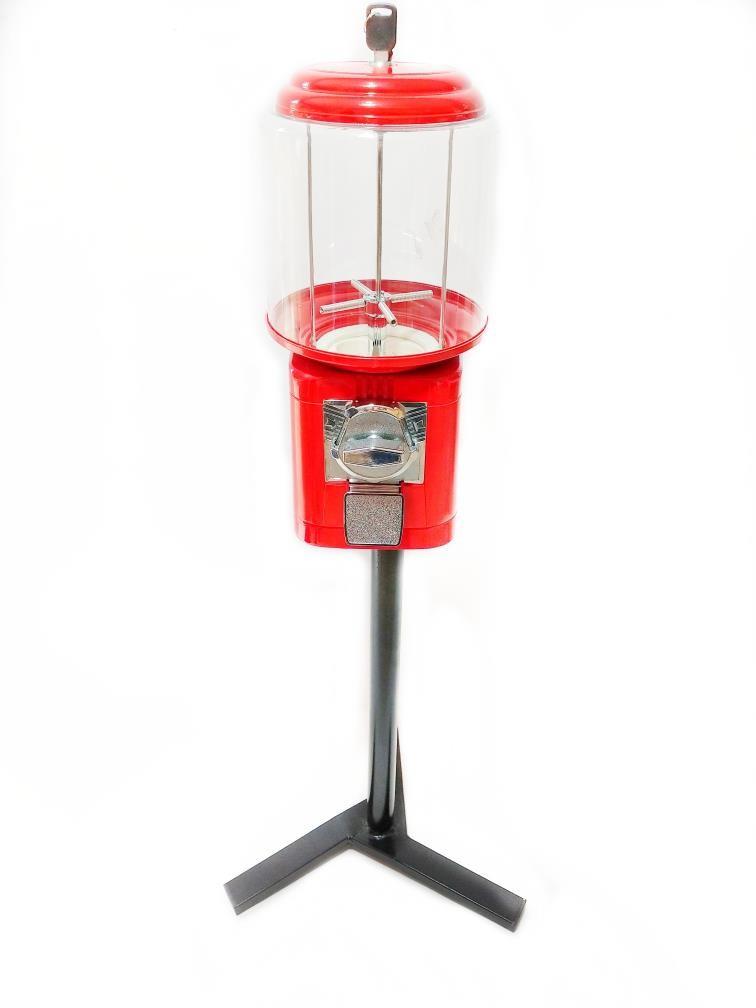 Kit Máquina de Bolinha + Pedestal + Bolinha Pula Pula 27mm