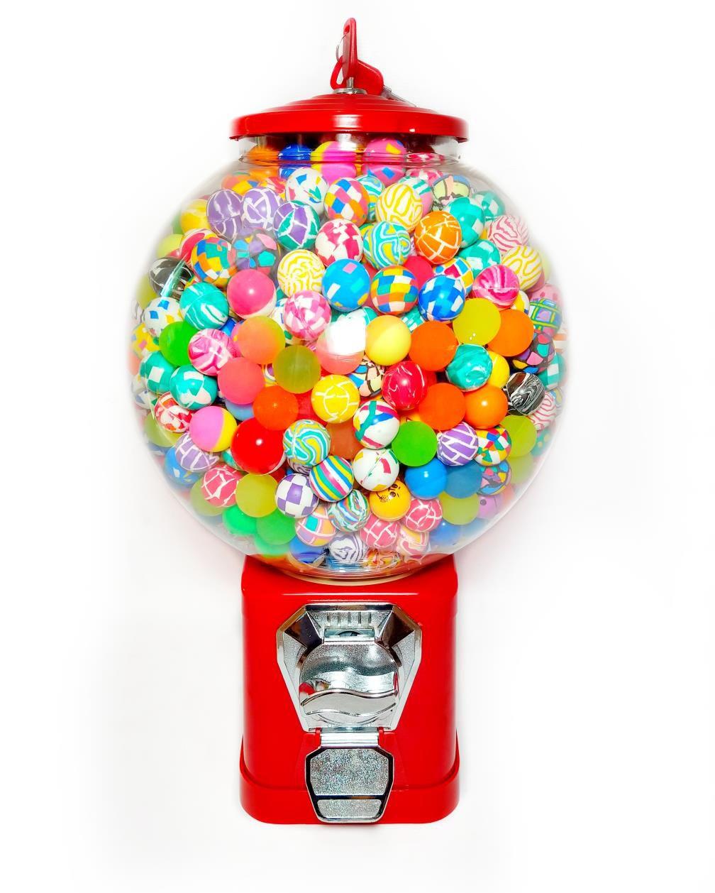 Maquina de Bolinha Globinho Redonda