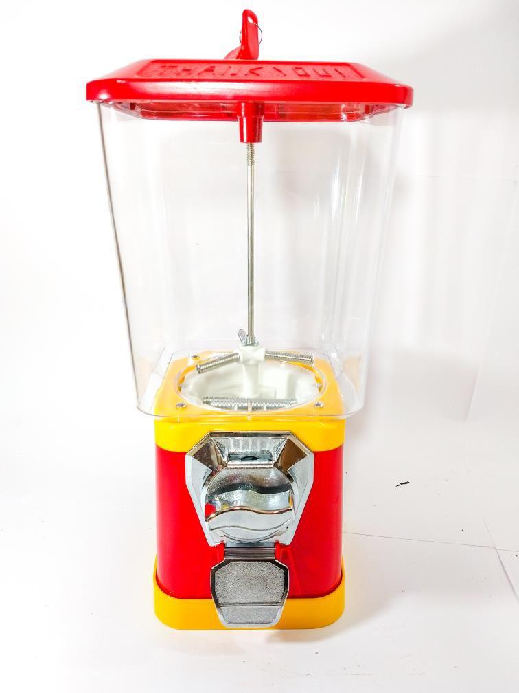 Máquina de Bolinha Pula Pula - Vending Machine Quadradinha