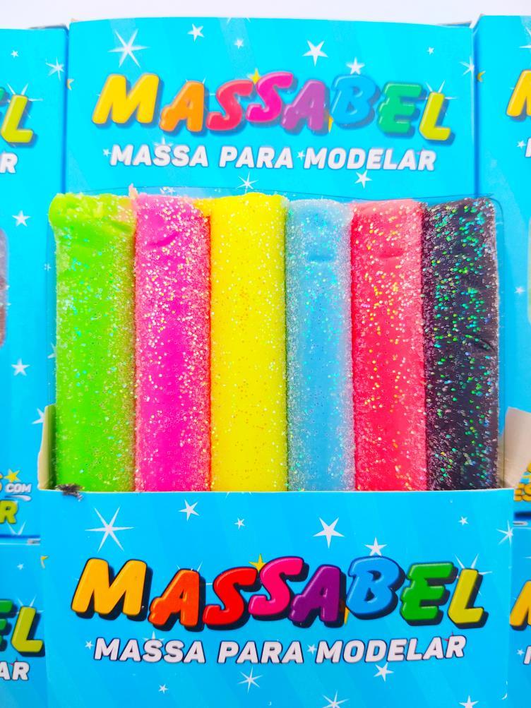 Massinha de Modelar 65 grs Glitter