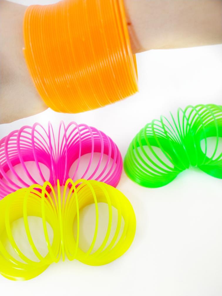 Mola Maluca Pulseira Cores Neon Brinquedo