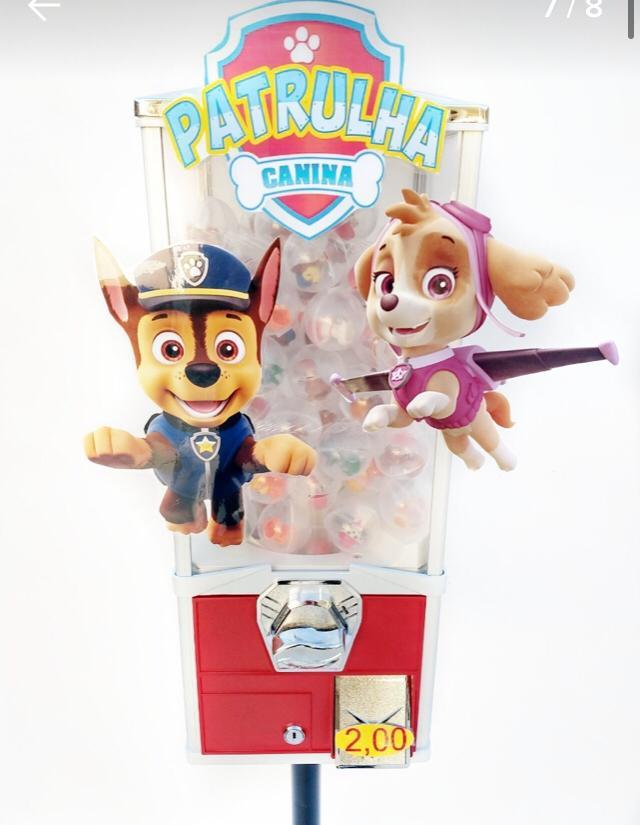 Testeira P/ Maquina De Bolinha Pula Pula  3 Peça Vending Machine