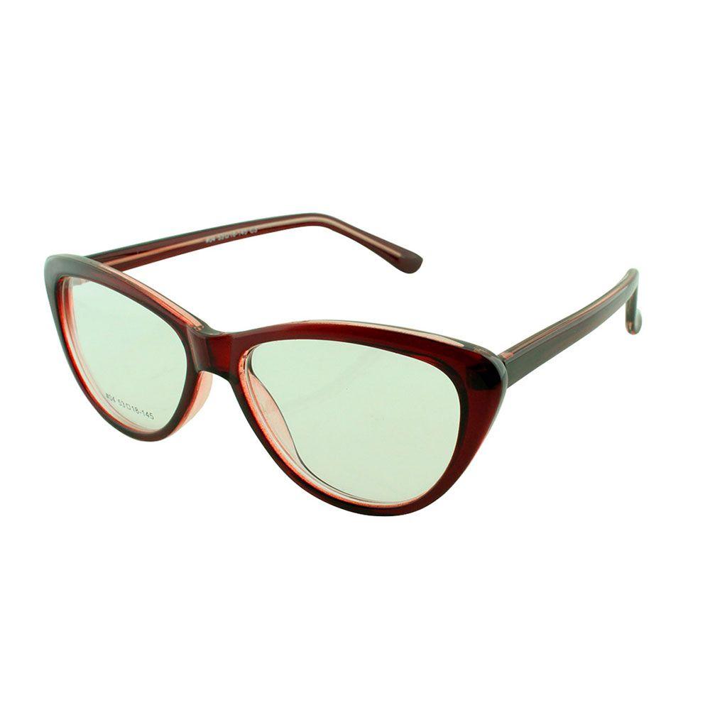 Armação para Óculos de Grau Feminino 04A Vinho