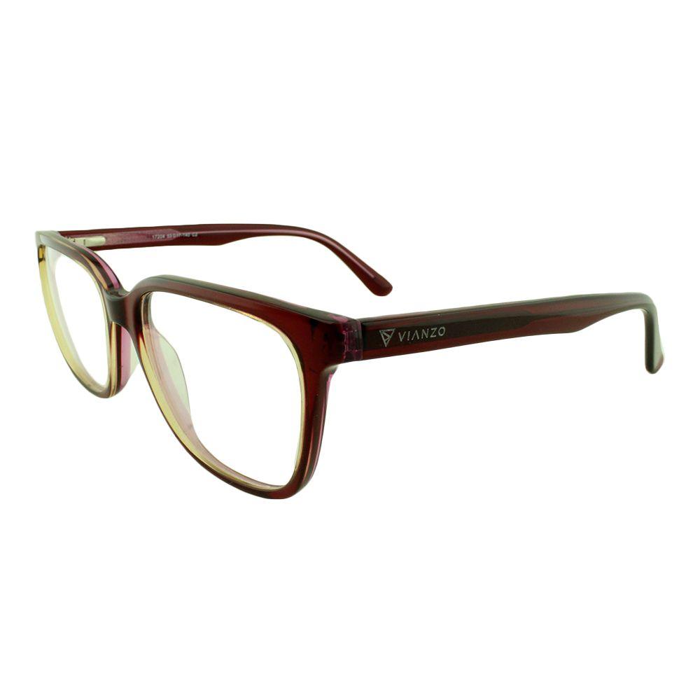Armação para Óculos de Grau Feminino 17204 Vinho Vianzo
